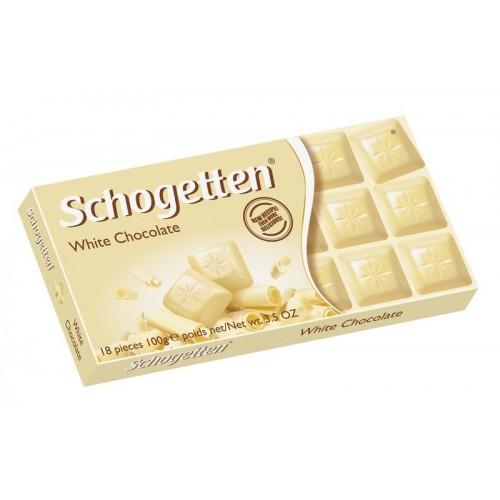 Šokoladas baltasis Schogetten,100g
