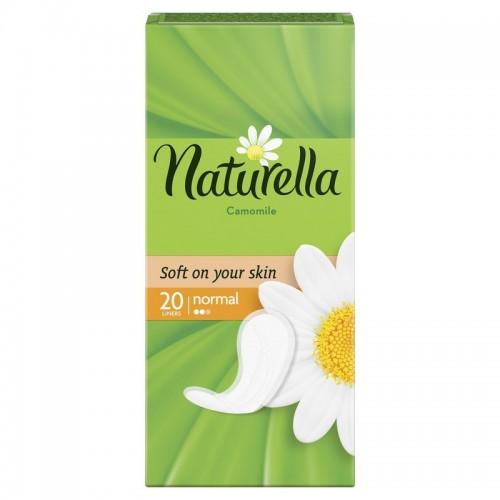Higieniniai įklotai Naturella natural Camomile 20vnt