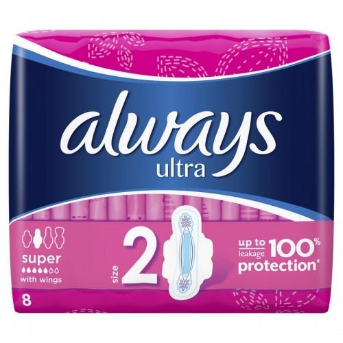 Higieniniai paketai Always Ultra Super Plus 8vnt
