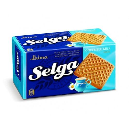 Sausainiai Selga sutirštinto pieno sk.,180g