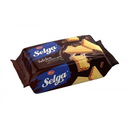 Vafliai šokoladiniai Selga 90g