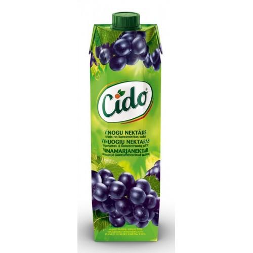 Nektaras Cido vynuogių 1l