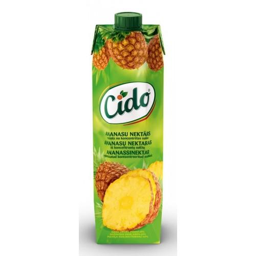Nektaras Cido ananasų 1l