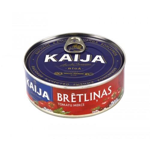 Šprotai kepti Kaija klasikiniame pomidorų padaže 240 g