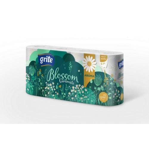 Tualetinis popierius Grite Blossom Camomile 3sl.,8vnt