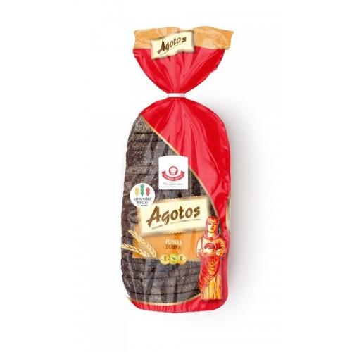 Duona juoda Agotos ruginė pjaustyta 800g
