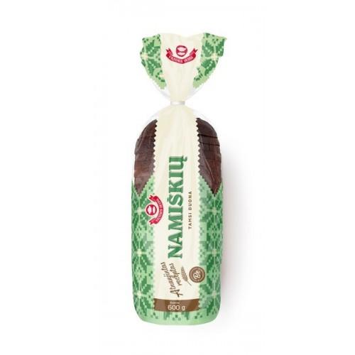 Duona Namiškių ruginė tamsi pjaustyta 600g