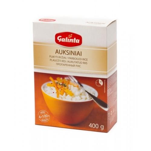 Auksiniai ryžiai Galinta 4x100 g dėžutė