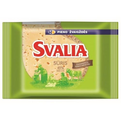 Sūris fermentinis Svalia 45% r.s.m.240g