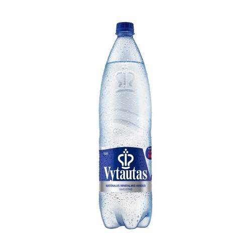 Mineralinis vanduo Vytautas natūralus gazuotas 1,5 l PET