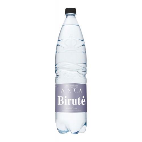 Natūralus mineralinis vanduo Birutė gazuotas 1,5l