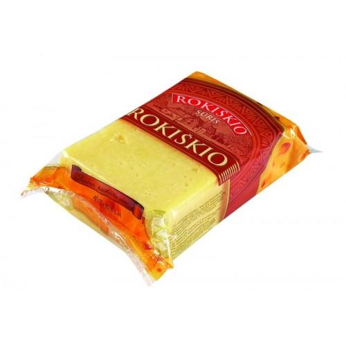 Sūris fermentinis Rokiškio 45%,240g duj.