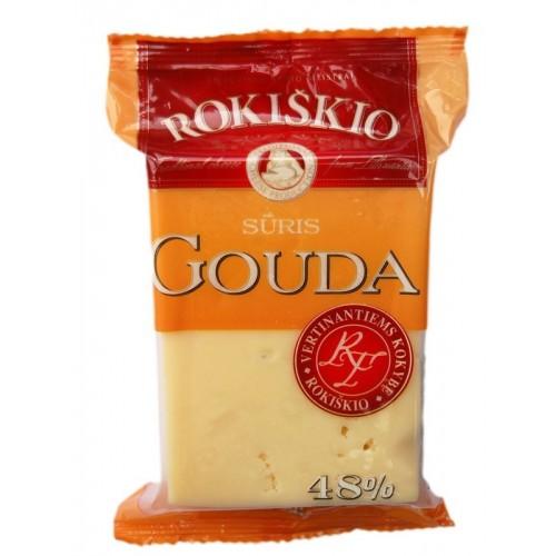 Sūris Rokiškio Gouda  48%rieb.,200g
