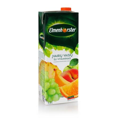 Sulčių gėrimas įvairių sulčių Elmenhorster 20% 1,5l