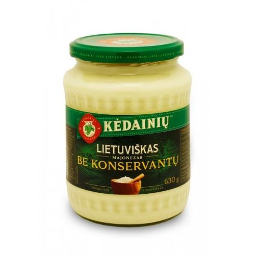 Majonezas Lietuviškas 61%rieb. 630g