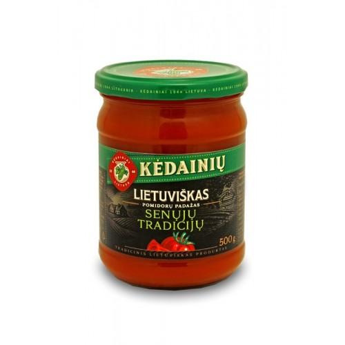 Pomidorų padažas Kėdainių Lietuviškas Senųjų Tradicijų 500g