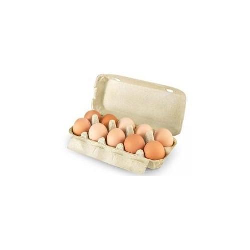 Kiaušiniai M rudi fas. 10vnt