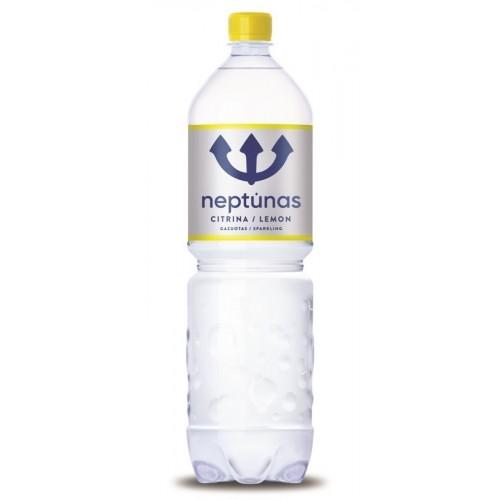 Stalo vanduo Neptūnas Unique Lemon gazuotas 1,5l