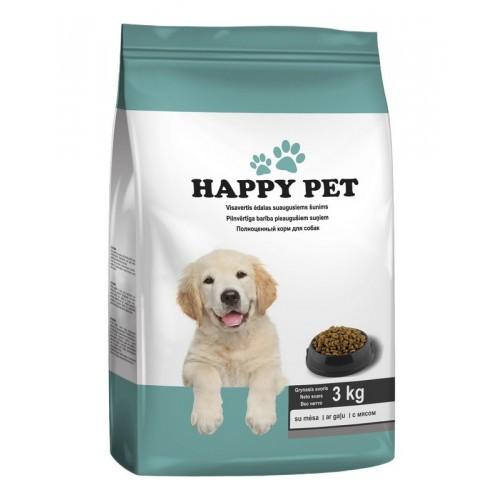 Ėdalas šunims sausas Happy pet,3kg