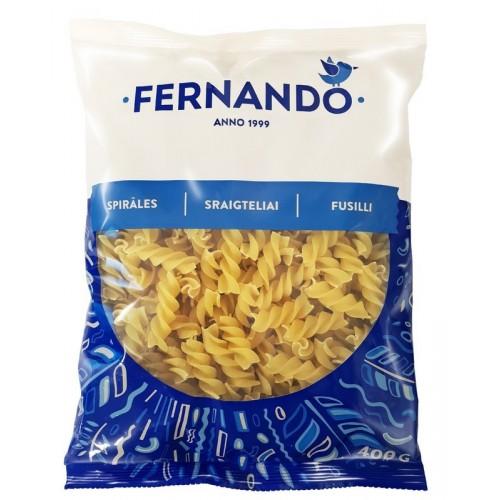 Makaronai Fernando sraigteliai,400g