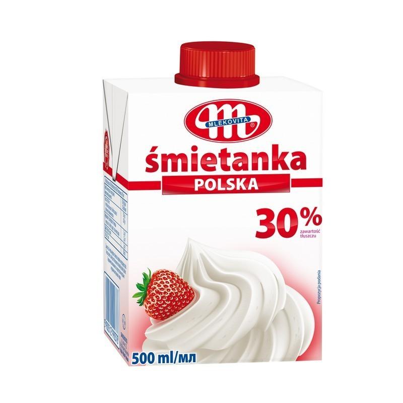 Grietinėlė Mlekovita 30%, UAT 500 ml