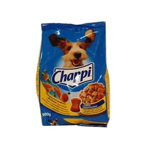 Ėdalas šunims sausas Chappi su paukštiena daržovėmis 500g
