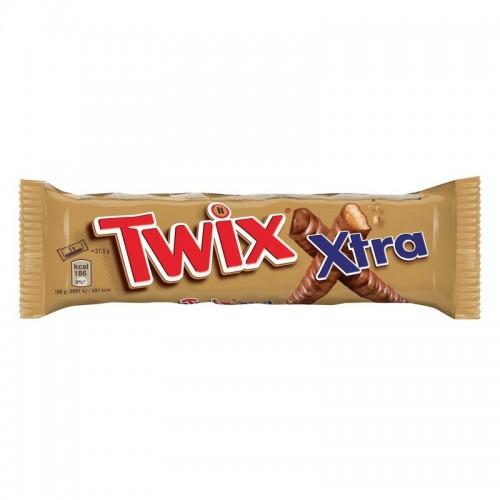 Batonėlis šokoladinis Twix Xtra,75g