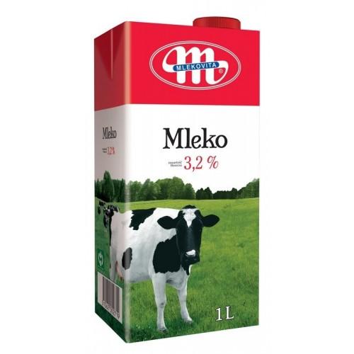 Pienas Mlekovita 3.2%,1l UHT