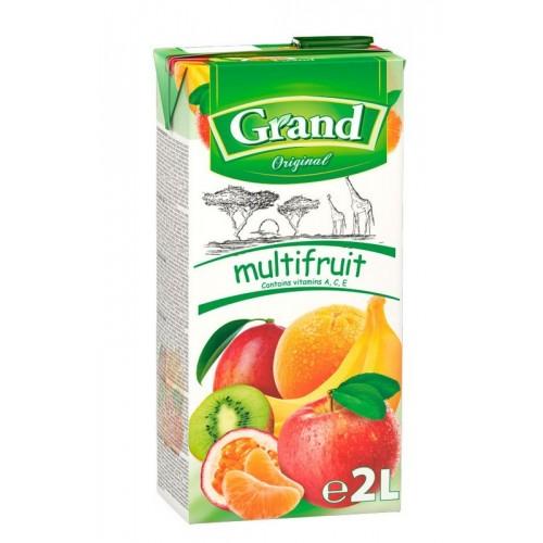 Sulčių gėrimas Grand multivitaminų 2 l