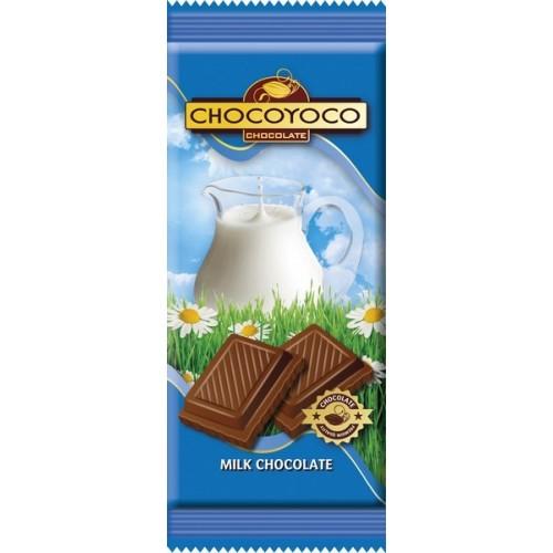 Šokoladas pieninis Chocoyoco,100g
