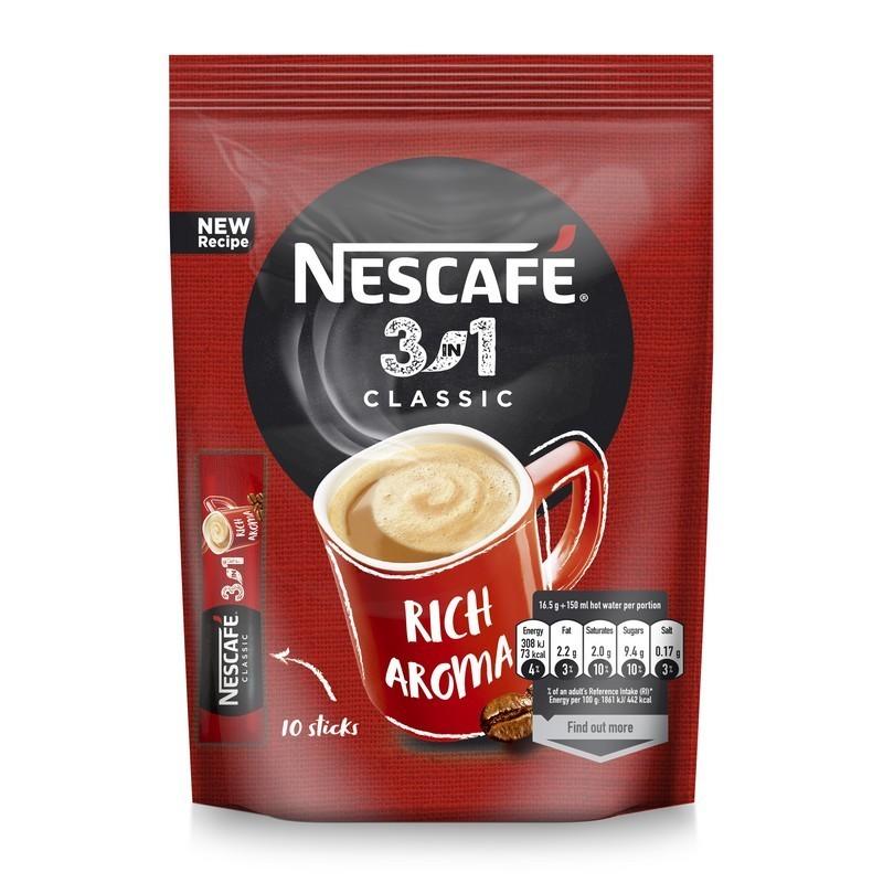 Kavos gėrimas NESCAFE CLASSIC 3in1 (10x17,5g), 175 g