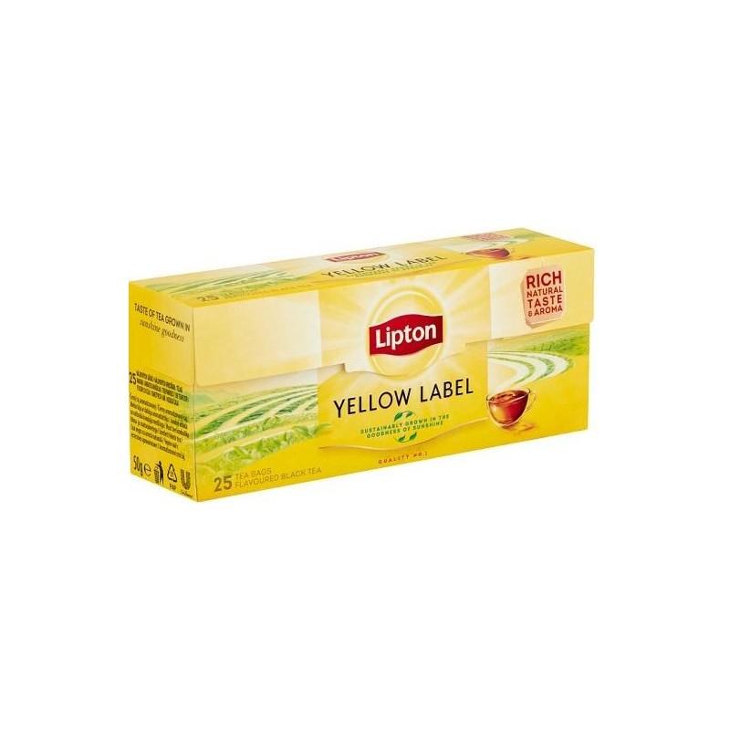 Juoda arbata Lipton Yellow Label *25