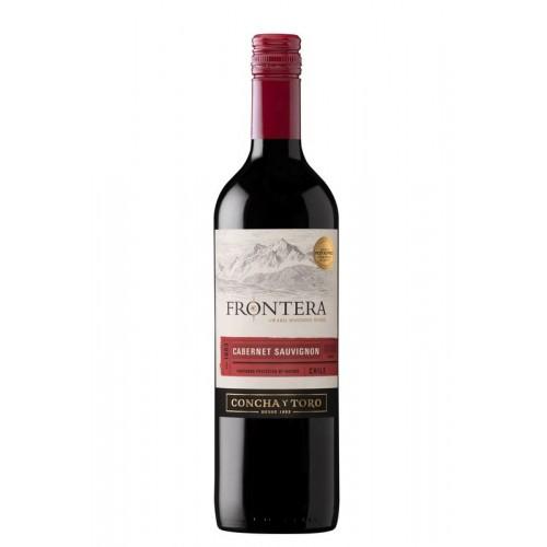 Vynas Frontera Cabernet Sauvignon 12%,r.,saus.,0,75l,Čilė