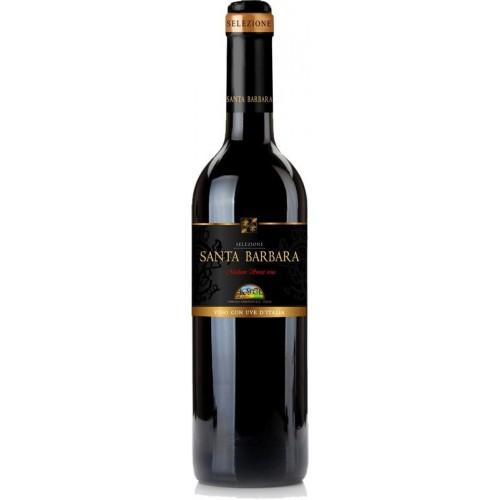 Vynas Santa Barbara 10,5% raud. p.sald. 0,75l Italija