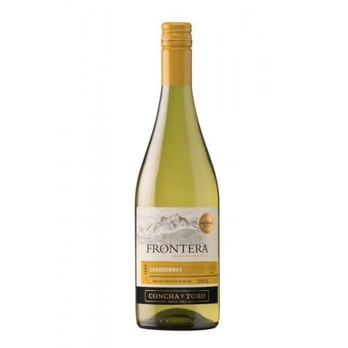Vynas Frontera Chardonnay 13% baltas,sausas,0,75l,Čilė