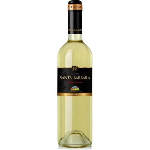 Vynas Santa Barbara 10% baltas p.sald.,0,75l Italija