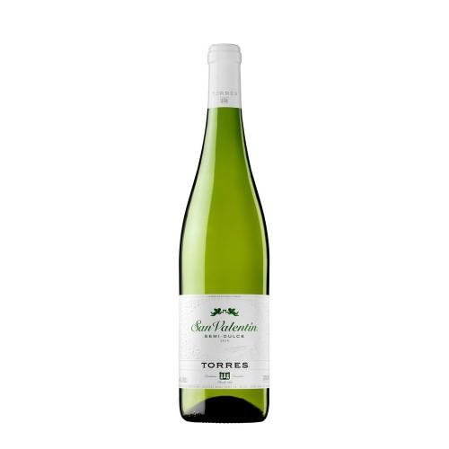 Vynas Torres San Valentin 11% baltas p.saus.,0,75l,Isp.