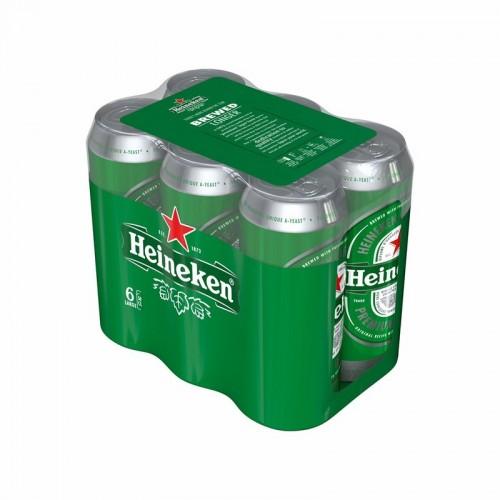 Alus Heineken 5% 6x0,5l skard.