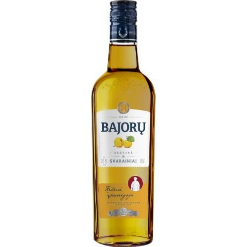 Spiritinis gėrimas Bajorų degtinė ir svarainiai 32%,0,5l