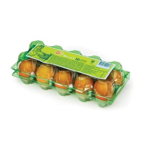 Kiaušiniai vištų Balticovo rudu lukštu M 53-63g 10vnt