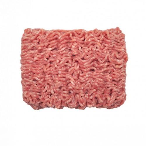 Kiauliena smulkinta 3mm riebumas mažiau negu 30% atv.,kg