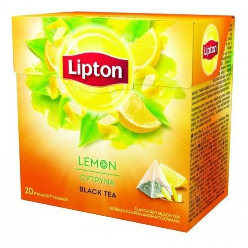Arbata juodoji Lipton Nirvana citrinų sk. 20*1,7 g