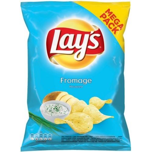 Bulvių traškučiai Lay's Grietinės ir svogūnų sk,215g