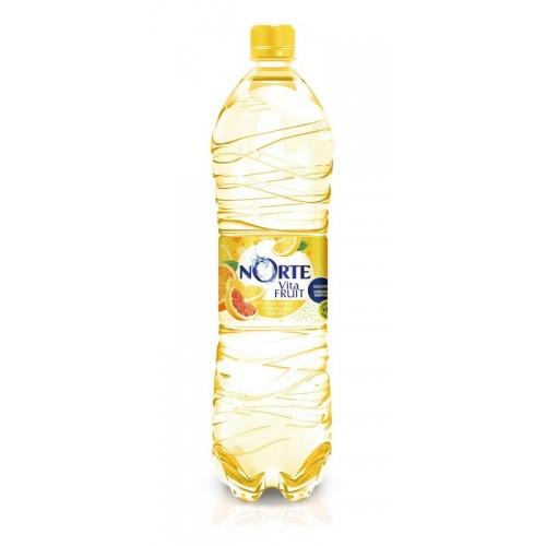 Gėrimas gaz.Norte Vitafruit citrusinių vaisių sk.1,5l