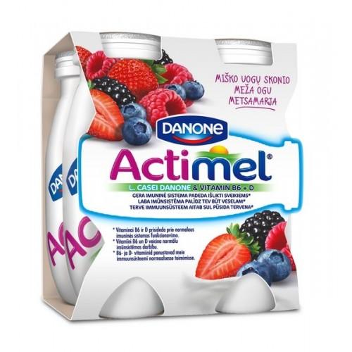 Jogurto gėrimas Actimel miško uogų sk. 1.5% 400g plast. ind.