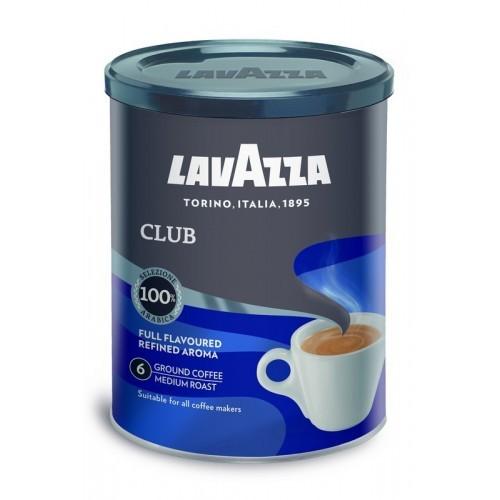 Kava malta Lavazza Club metal.dėž.,250g