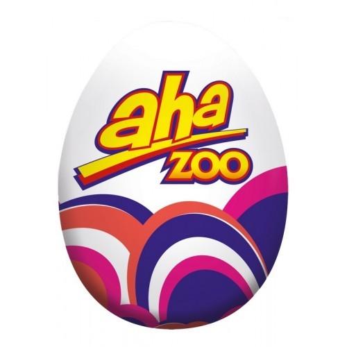 Kiaušinis šokoladinis Aha Zoo,20g
