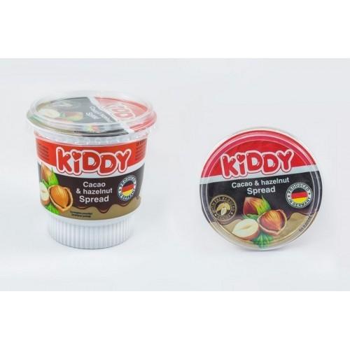 Kremas kakavinis lazdyno riešutų Kiddy,400g