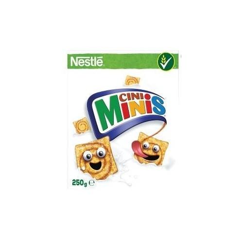 Sausi pusryčiai Nestle Cini Minis su cinamonu,250g
