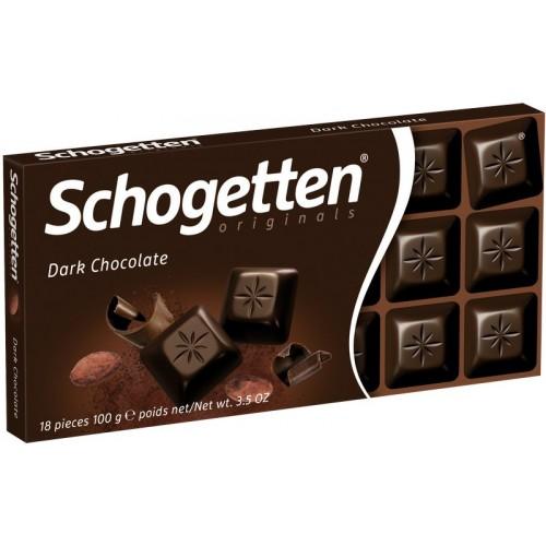 Šokoladas juodasis Schogetten 100g